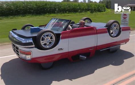 Teensy Batman Fan Gets Custom Batmobile Stroller