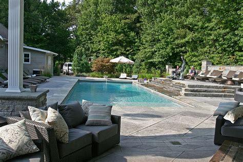 surround design ideas m l outdoor design trend 23 fabulous concrete pool deck ideas