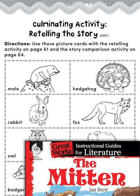mitten post reading activities teachers classroom