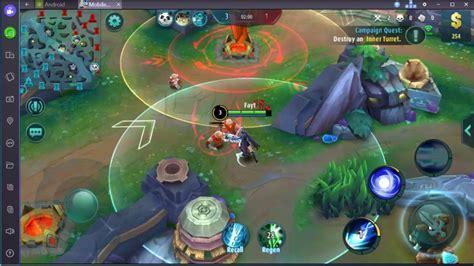 play mobile legends bang bang  pc keyboard mouse
