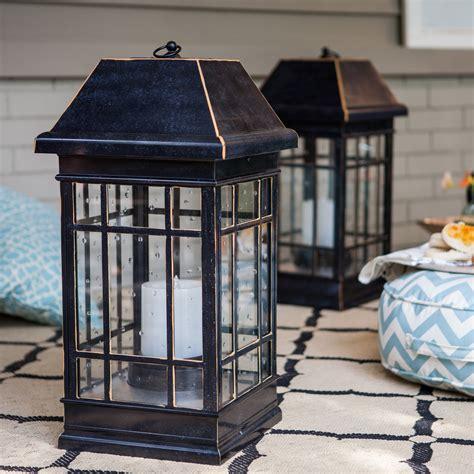 outdoor solar lanterns smart solar san rafael estate solar mission lantern 1316