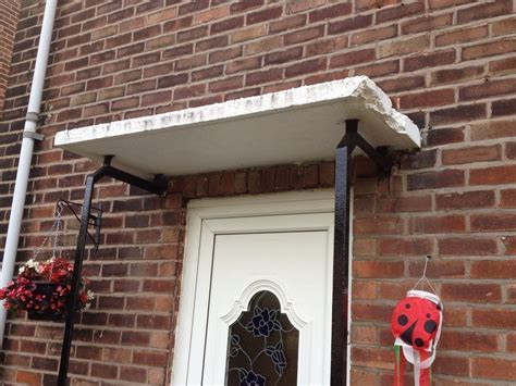 Lintel required above window & Door canopy removal