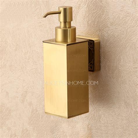paper towel dispenser bathroom polished brass wall mount soap dispensers