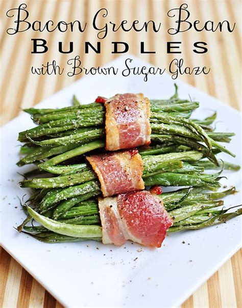 green beans recipe for thanksgiving dinner for thanksgiving dinner holidays pinterest thanksgiving bacon and bacon wrapped green beans