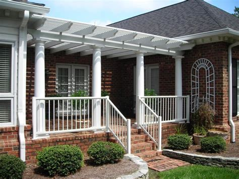 front deck ideas pergolas porches and front porches on pinterest