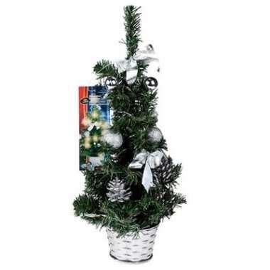 kleine wäschetrockner 45 cm kleine kerstboom 45 cm zilver met leds kleine kerstboom nl
