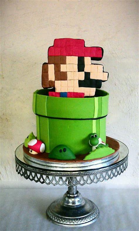 Super Mario In A Warp Pipe Cake Pic Global Geek News