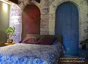 Papier Peint Photo : papier peint photo trompe l 39 oeil portes le meuble du ~ Melissatoandfro.com Idées de Décoration