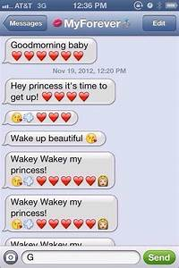 I want my boyfriend to text me this oh my it's so cute ...