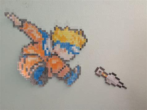 Naruto Uzumaki Pt I Pixel Art By Thejackedex On Deviantart