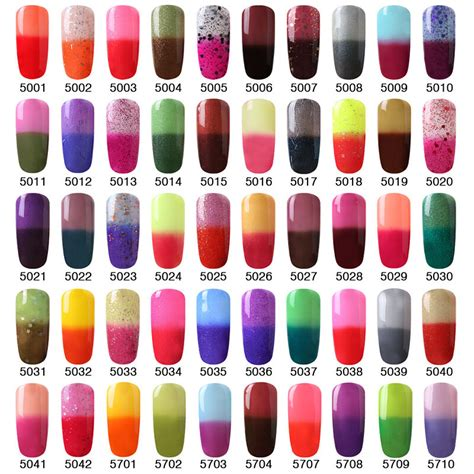 temperature color changing gel nail elite99 temperature color changing gel nail