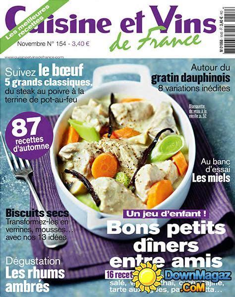 cuisine et vins de cuisine et vins de novembre 2013 no 154