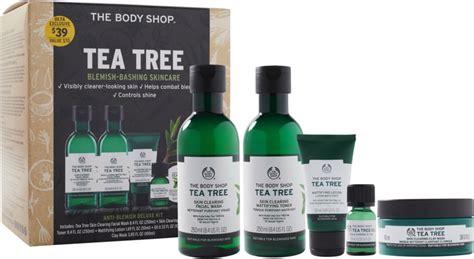body shop tea tree anti blemish deluxe kit ulta beauty