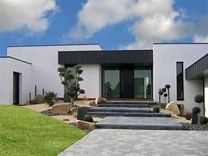 amenagementexterieur maison moderne recherche google With ordinary amenagement exterieur maison contemporaine 3 photos maisons contemporaines