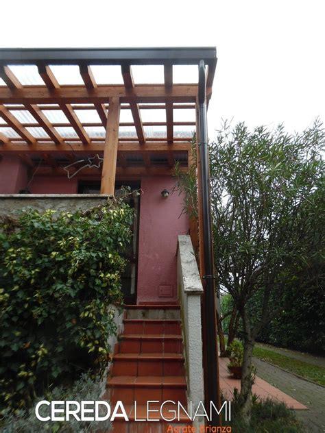 realizzazione tettoia in legno tettoia legno lamellare cereda legnami agrate brianza