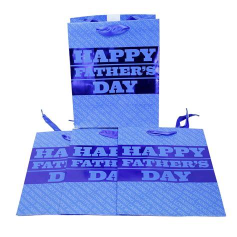 bulk buys small blue fathers day gift bag walmartcom