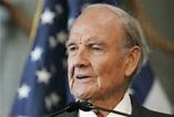 George McGovern, who lost 1972 presidential bid to Nixon ...