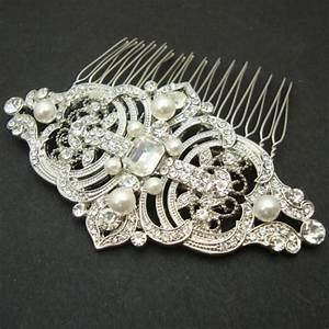 Vintage Style Bridal Hair Comb Wedding Hair Comb Wedding