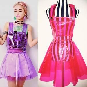 Harajuku neon galaxy suspended skirt · Harajuku fashion