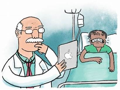 Patient Hospital Clipart Social Medical Doctors Doctor