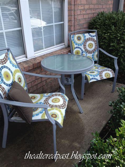 hometalk redo patio sling chairs