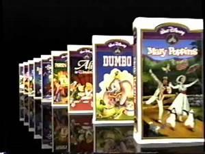Walt Disney Masterpiece Collection (1994) Promo (VHS ...