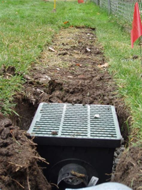 Backyard Drainage by 1000 Ideas About Drainage Solutions On
