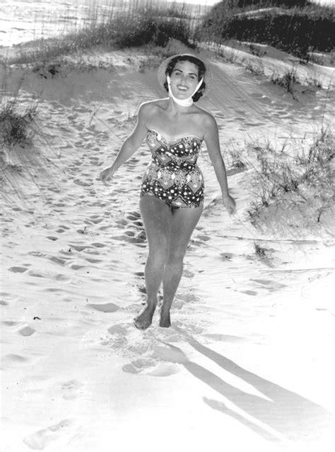 florida memory pat finn models  bathing suit  saint