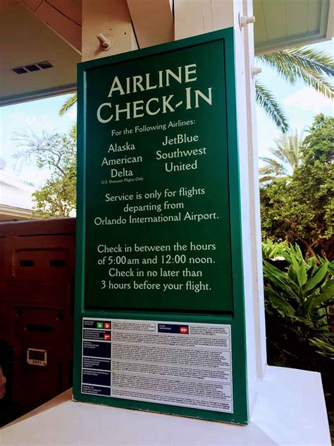 resort airline check disney world works