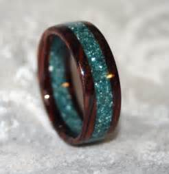 wooden wedding bands custom wooden or corian wedding band or ring