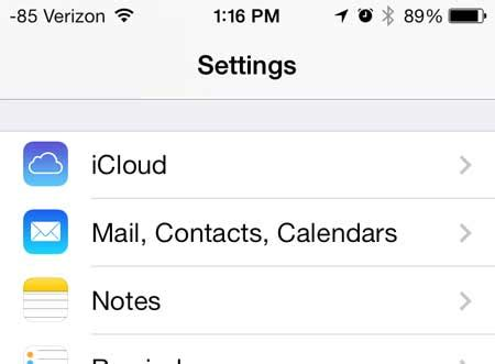 how to update email password on iphone how to change an email account password on the iphone 5 How T