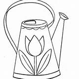 Watering Drawing Colouring Coloring Clip Clipart Getdrawings sketch template