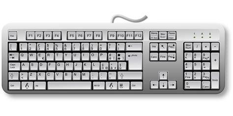 Keyboard Keys Computer Hardware Drawing Free Image