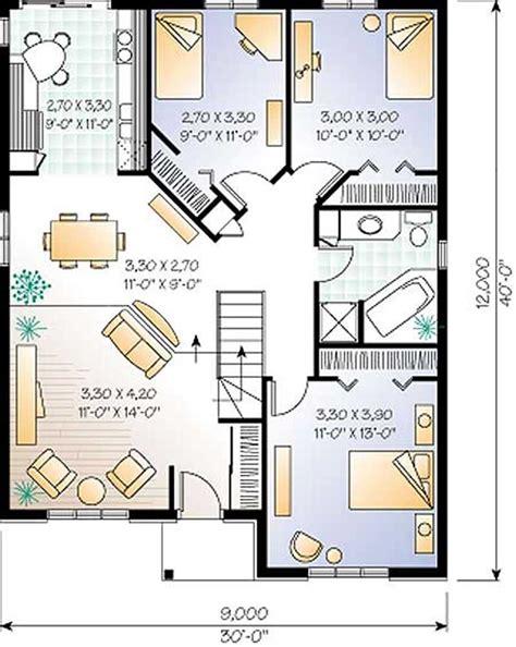 bungalow floorplans small bungalow contemporary european house plans home