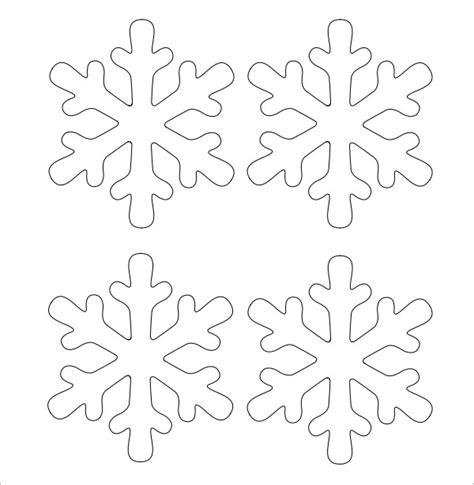 snowflake template frozen snowflake template 11 free pdf