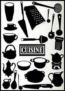 Assortiment Des Ustensiles De Cuisine Illustration De