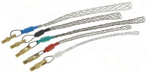 tire fil electrique kit de 5 chaussettes de tirage pour baguettes tire fils 20