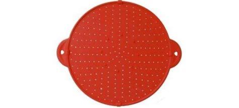 couvercle et grille anti projection en silicone