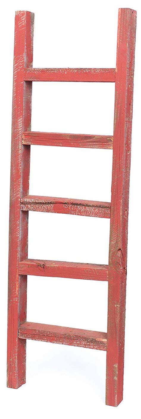 barnwoodusa rustic farmhouse decorative ladder