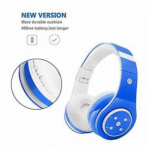 Bluetooth Kopfhörer On Ear Test : kabellose bluetooth kopfh rer f r kinder jugendliche ab 5 ~ Kayakingforconservation.com Haus und Dekorationen