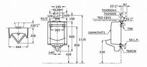 Urinal Dimensions