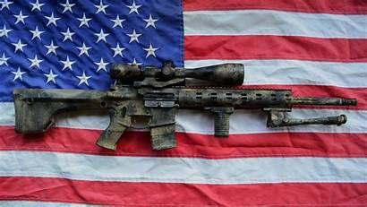 Flag Ar15 Rifle Spr Assault Weapon Ar