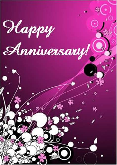MS Word Happy Anniversary Card Template Word & Excel