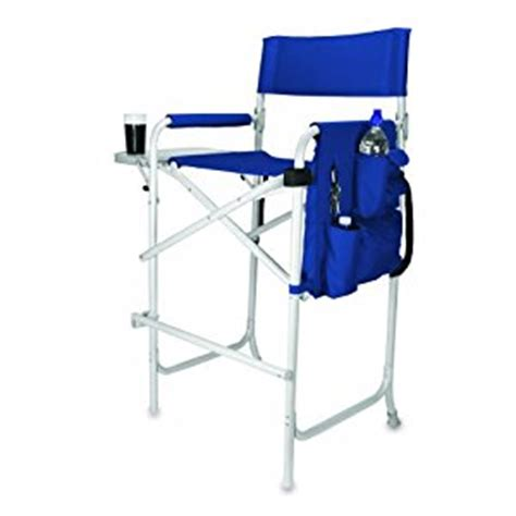 amazon com celebrity portable tall director chair navy