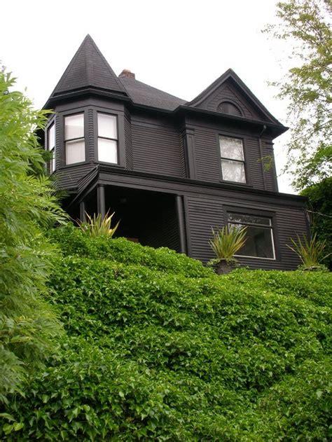 Black Victorian House Exterior