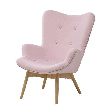 fauteuil pour chambre fauteuil vintage enfant en tissu iceberg maisons du
