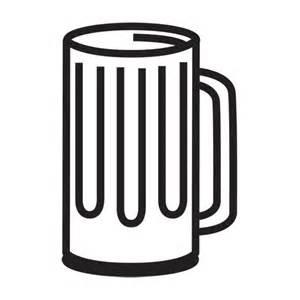 Beer Mug Clip Art Black and White