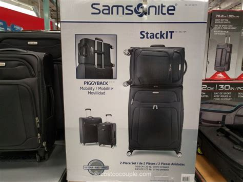 Samsonite StackIt 2 Piece Set