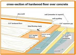 installing bamboo floors on concrete slab and plywood subfloor the home depot community