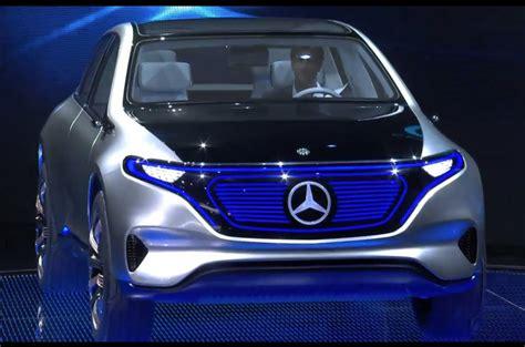 mercedes generation eq concept revealed  paris motor